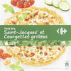 Tarte Fine, Noix de Saint-jacques et Courgettes grillées - Produit