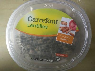 Lentilles Aux petits lardons - Produit - fr