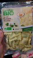 Ravioli Frais Bio épinard Et Ricotta, 250g - Produkt - fr