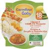 Légumes et volaille à la Basquaise Carrefour Baby - Product