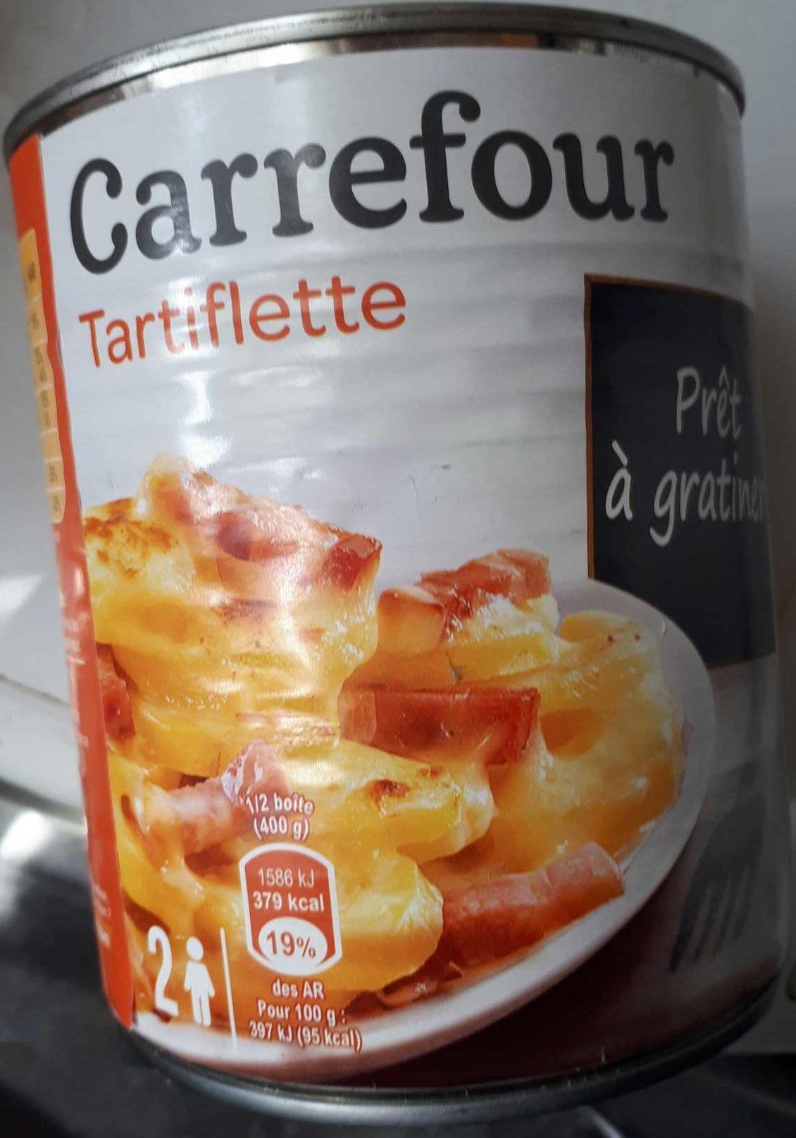Tartiflette a la creme fraiche - Produit - fr
