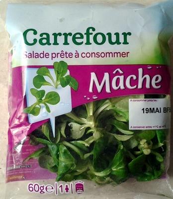 Salade prête à consommer, Mâche - Produit