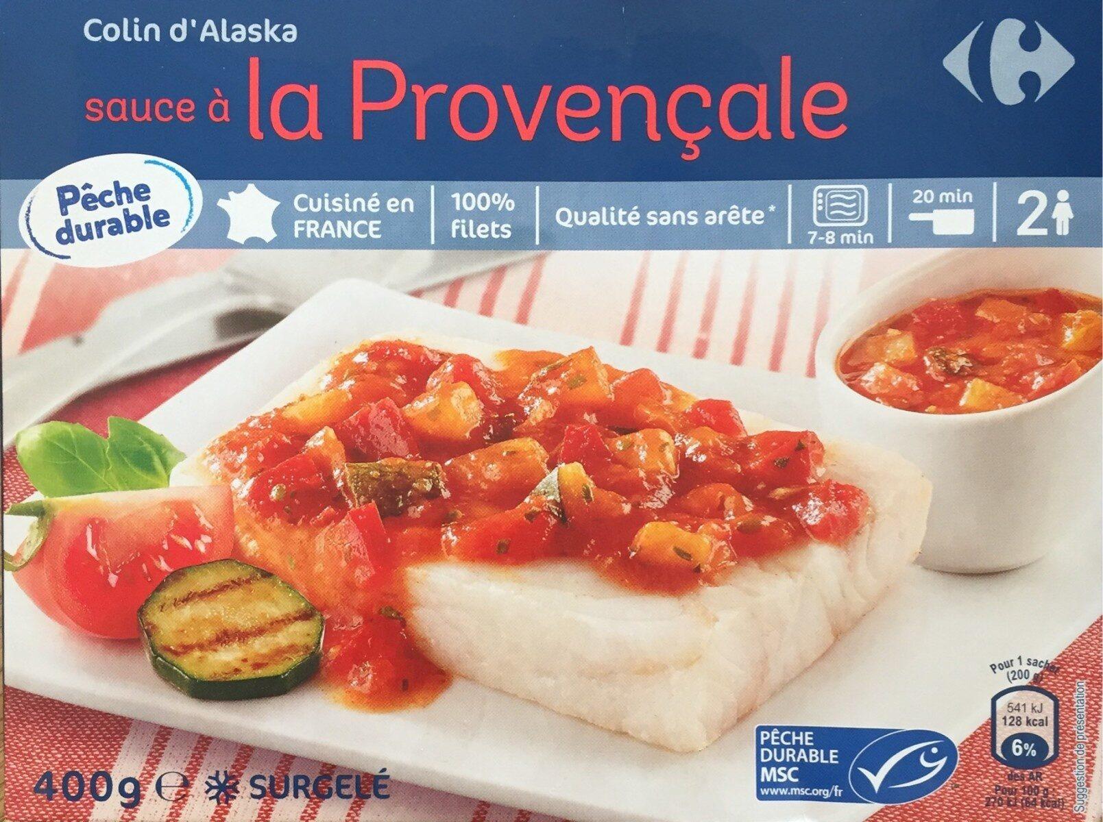 Colin d'Alaska à la Provençale, Surgelé - Produkt