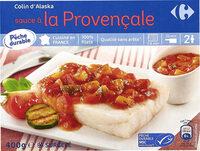 Colin d'Alaska sauce provençale - Produit - fr