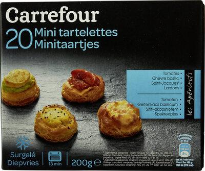 Mini tartelettes Les Aperitifs, 4 recettes - Produit - fr
