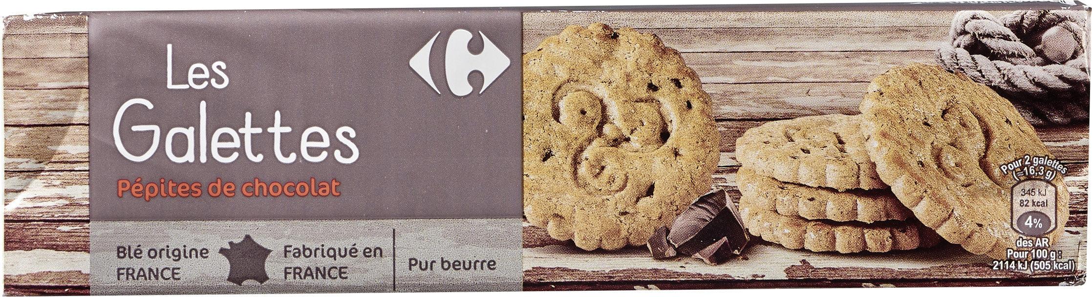Les Galettes Pépites de chocolat - Produit - fr
