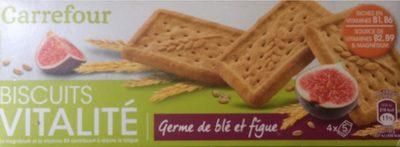 Biscuits germe de blé figue - Product - fr