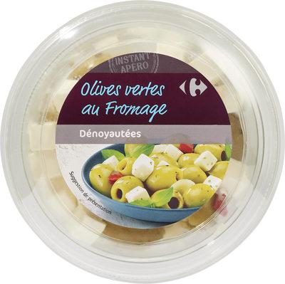 Olives vertes au fromage - Produit - fr