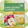 Pomme Banane Sans sucres ajoutés - Product
