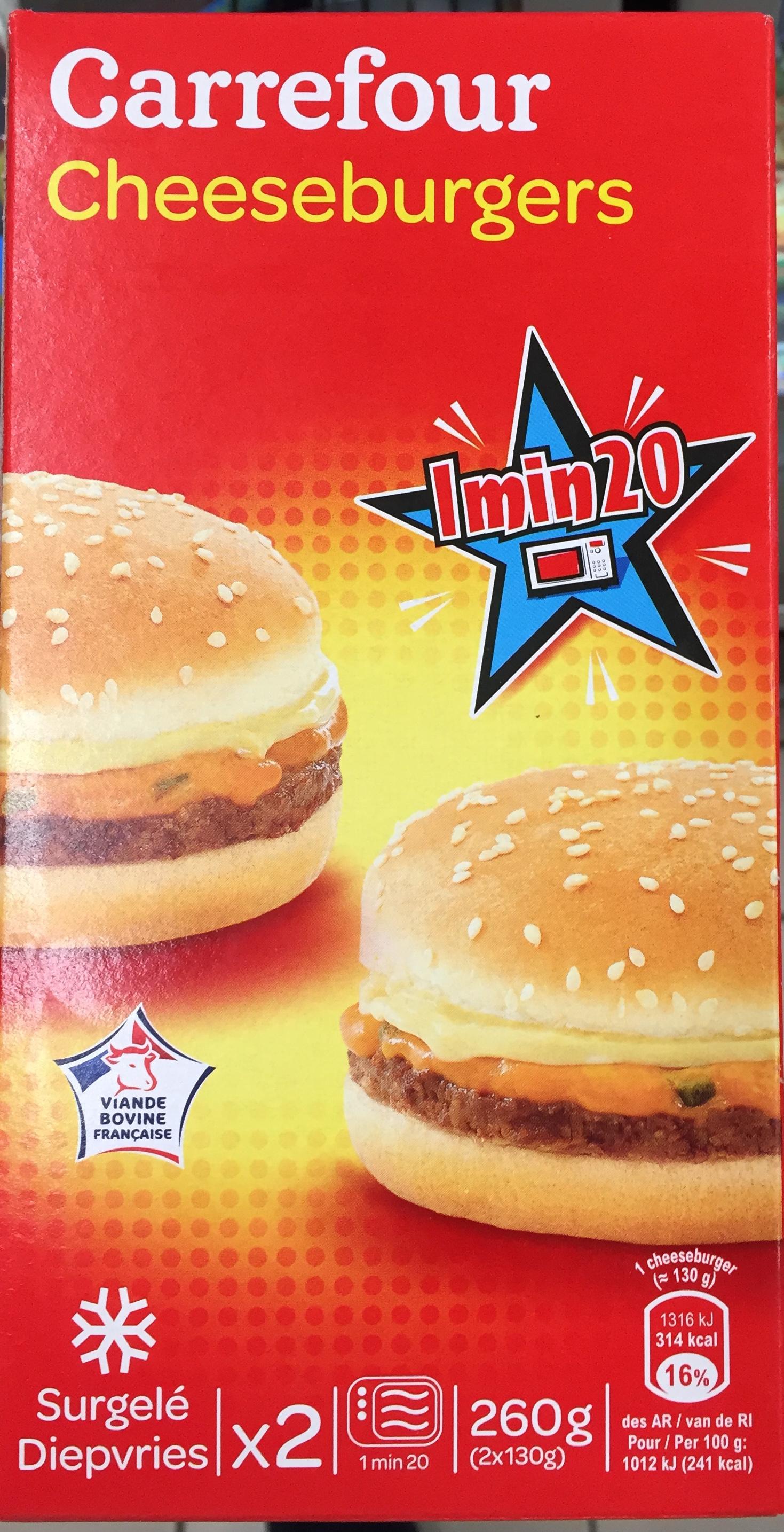 Cheeseburgers - Product - fr