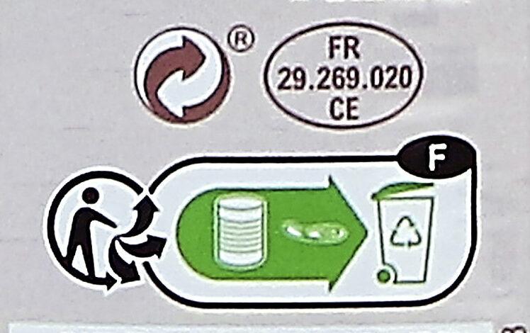 Saucisses aux Lentilles Cuisinées - Instruction de recyclage et/ou informations d'emballage - fr