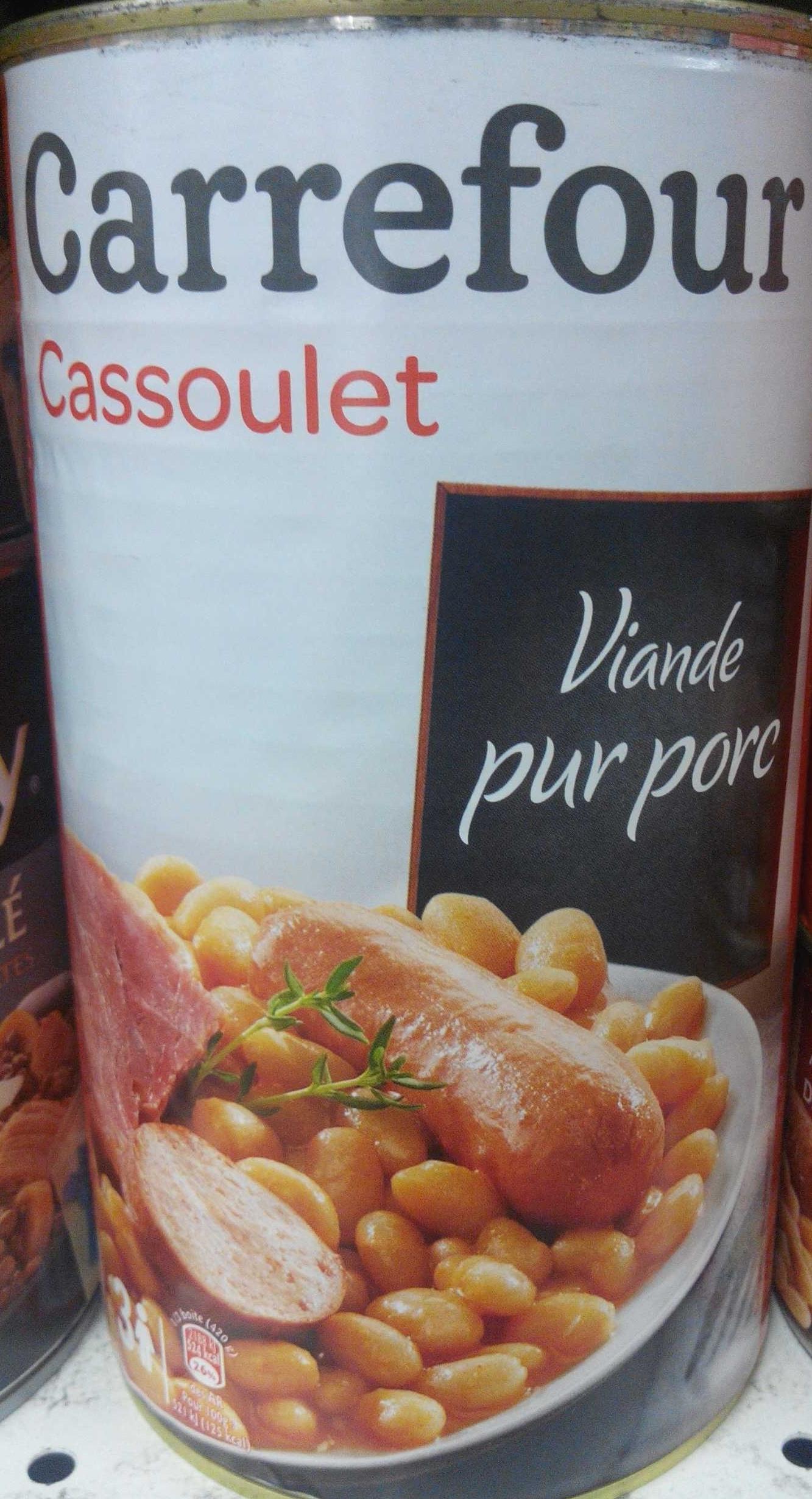 Cassoulet, Viande pur porc - Produit - fr