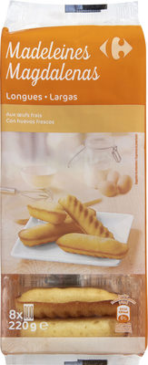 Madeleines longues - Product - fr