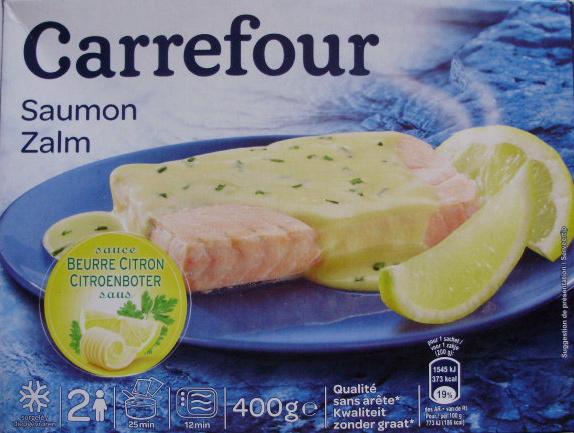 Saumon, sauce Beurre Citron, Surgelé - Product - fr