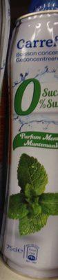 Boisson Concentrée 0% Sucres Parfum Menthe - Product - fr