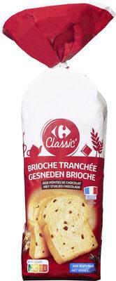 Brioche tranchée aux pépites de chocolat - Product - fr
