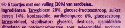 Mini gâteaux - Ingrediënten - nl
