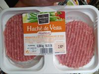 Haché de Veau Moelleux - Produit