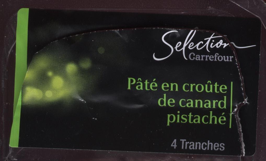 Pâté En Croûte De Canard Pistaché - Product