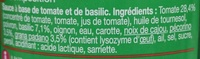 Pesto rouge - Ingredients - fr