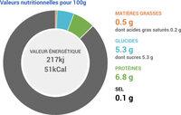 Fromage Blanc 0% - Valori nutrizionali - fr
