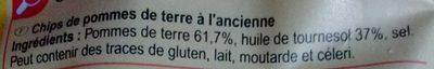 Chips, Recette à l'Ancienne - Ingrédients - fr