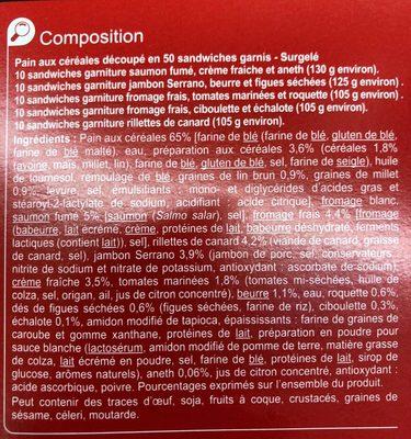 Pain Surprise Aux Céréales - Ingrediënten