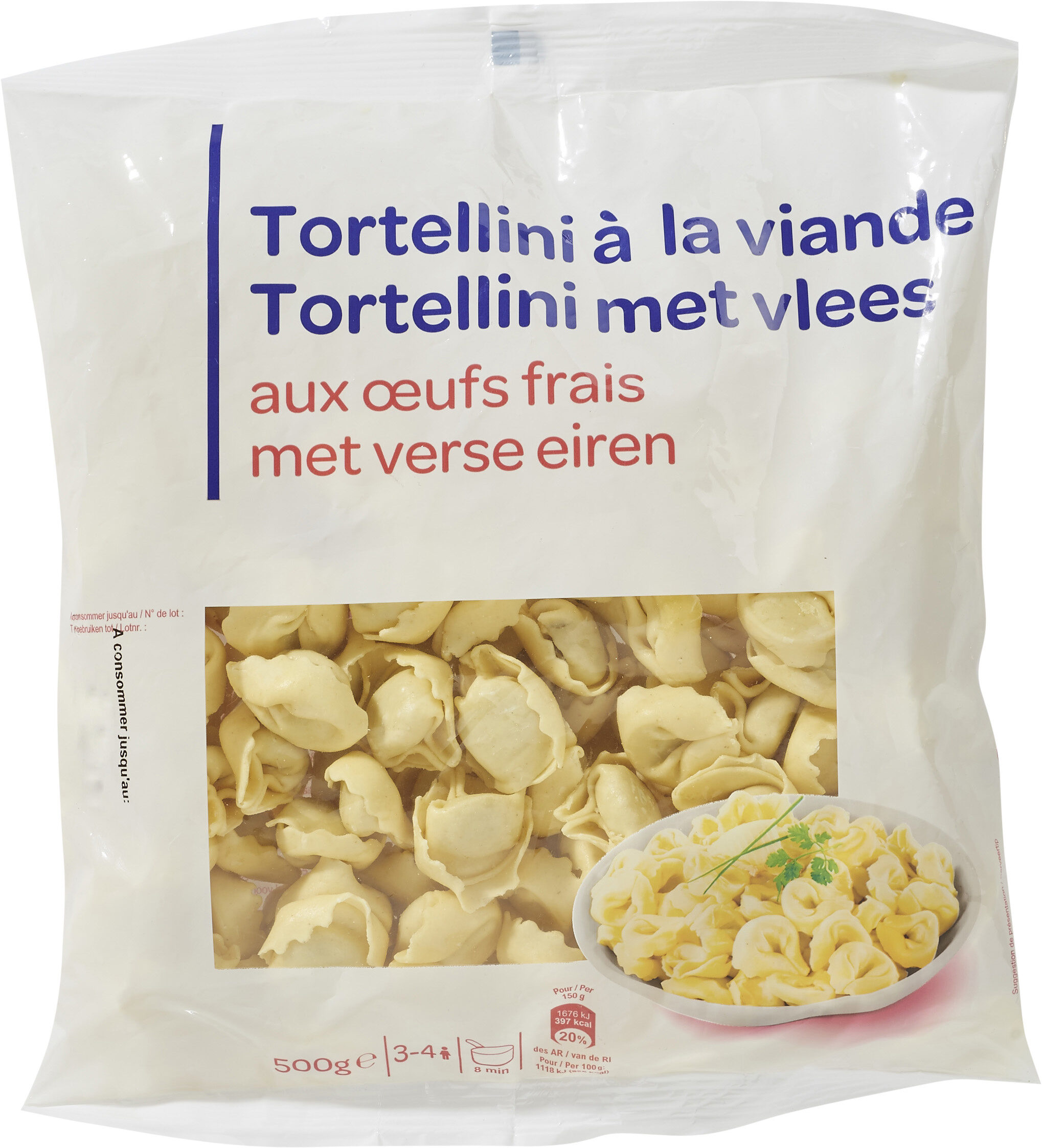 Tortellini Farci de Viande - Prodotto - fr