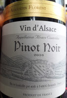 Vin d'Alsace Pinot Noir - Produit - fr