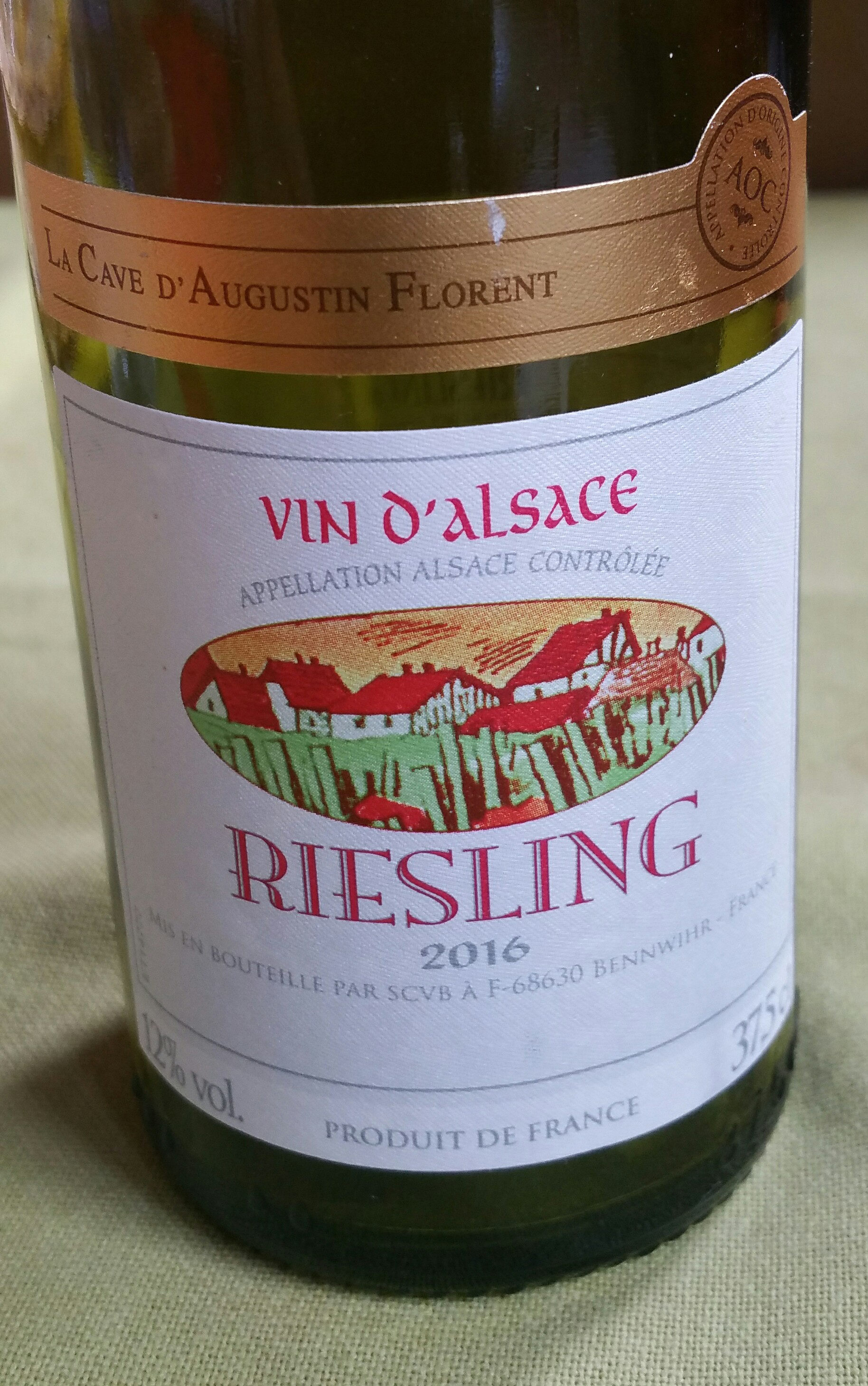37.5CL Riesling Blanc 2009 - Produit - fr