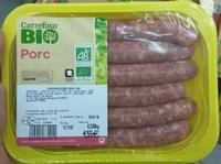 Chipolatas Bio - Product - fr