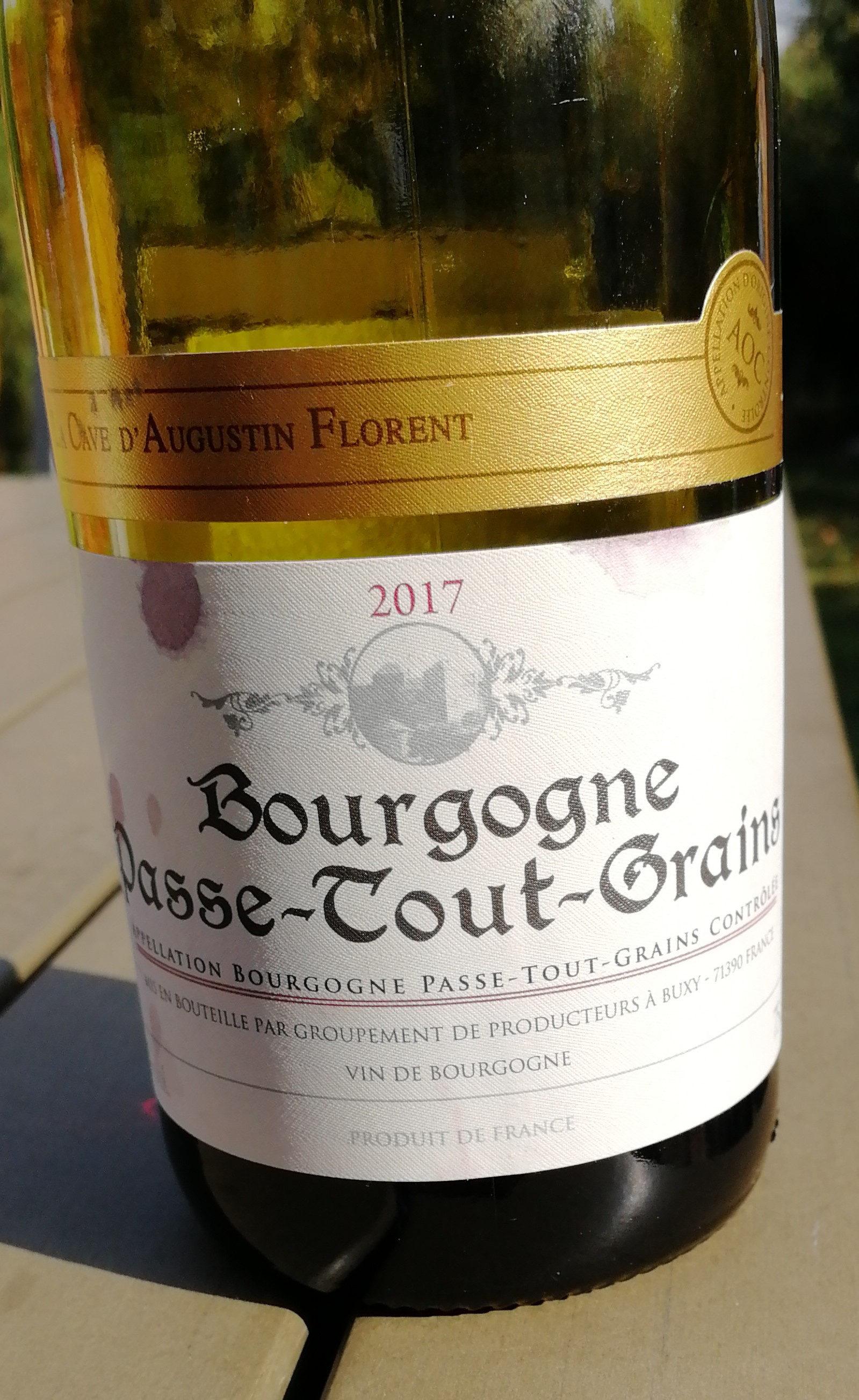 bourgogne passe-tout-grain - Produit - fr