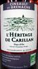 Cinsault et Grenache Pays d'Oc 2011 IGP Bio L'Héritage de Carillan - Product