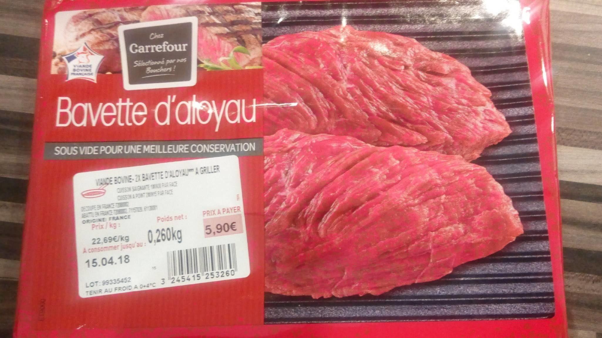 Bavette d'aloyau - Product - fr