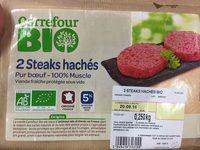Steaks Hachés 5% - Produit - fr