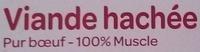 Viande hachée bio 15% - Ingrediënten