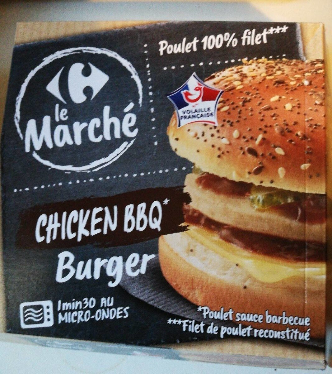 Chicken BBQ Burger - Product - fr