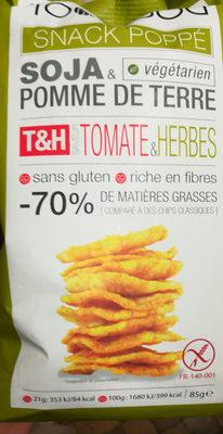 Snack poppé T&H - Produit - fr