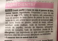 Too Good Bacon - Ingrediënten - fr