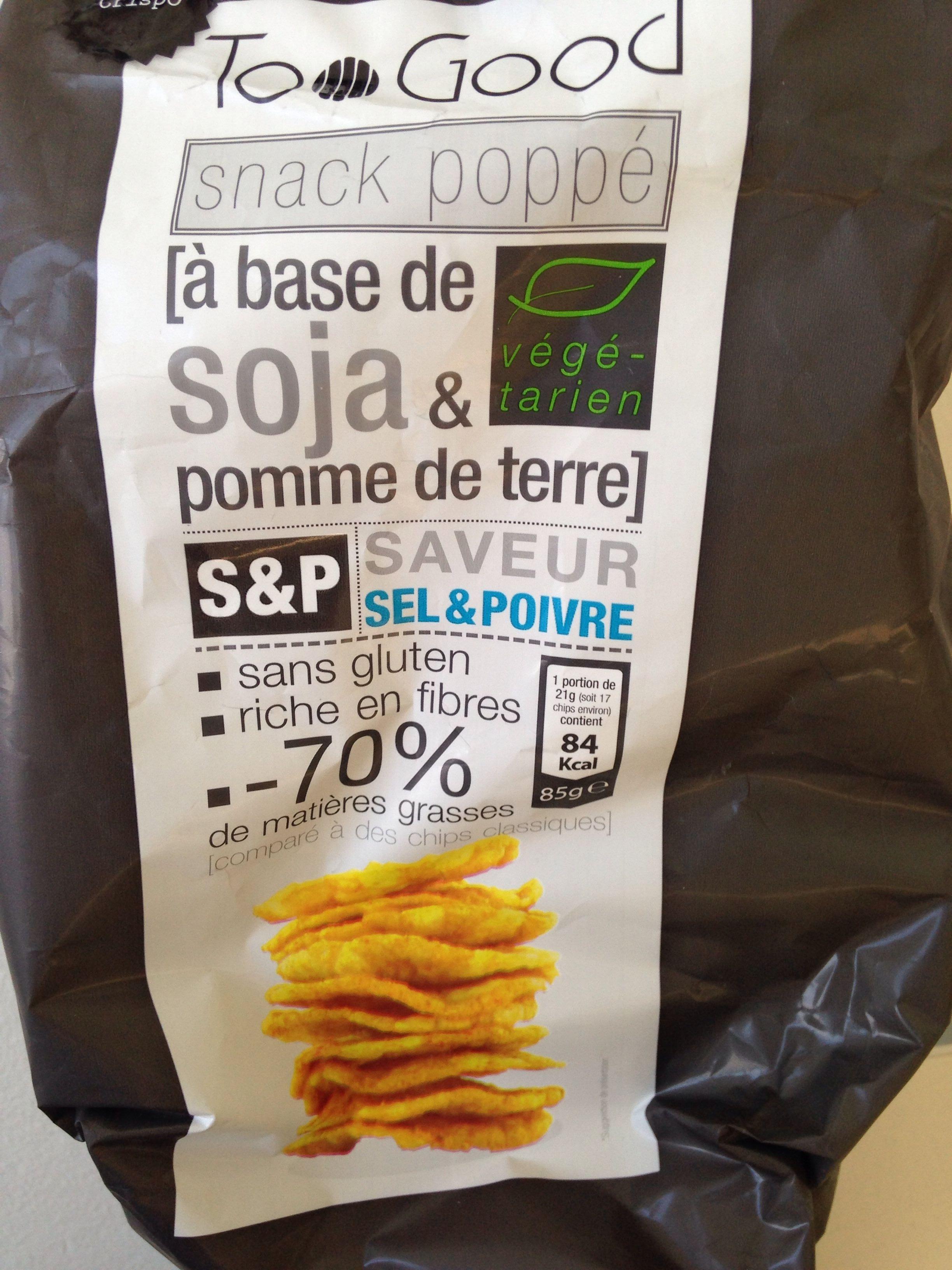 Snack Poppé - Produit