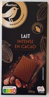 Chocolat au Lait Intense en Cacao - Product