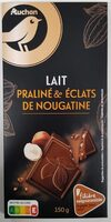 Chocolat au Lait Praliné & Éclats de Nougatine - Produit - fr