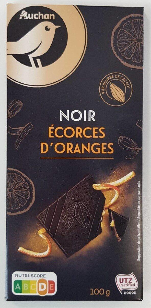 Chocolat Noir Écorces d'Oranges - Product - fr