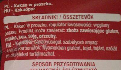 cocoa - Ingredients - en