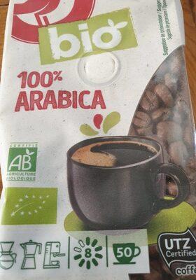 Cafe bio 100% arabica - Produit