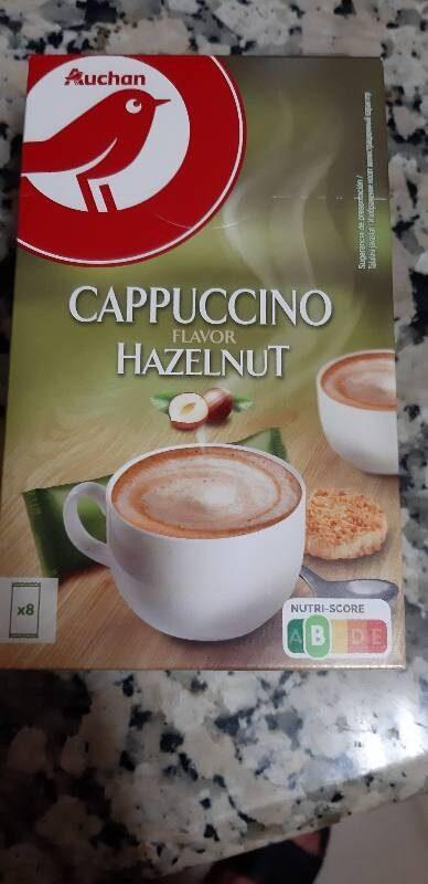 Capupuccino flavor hazelnut - Produit
