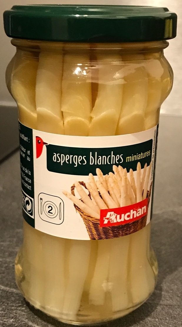 Asperges blanches miniatures - Product - fr