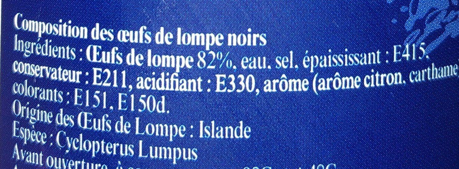 Oeufs de Lompe - Ingredients - fr