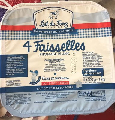 Faisselle fromage blanc - Product