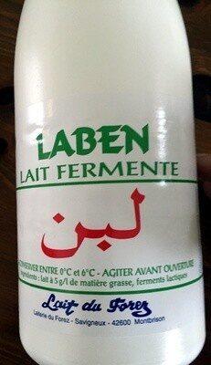 Laben lait fermenté - Produit - fr